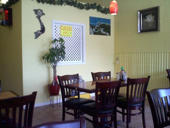 The interior of Pho Nhu-Y, Vestal.